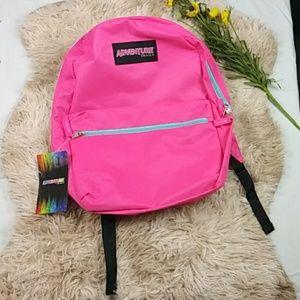 Adventure Trails Girl Pink Back Pack